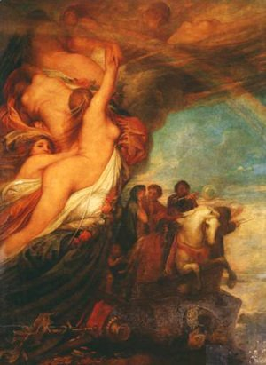 George Frederick Watts - Life's Illusions