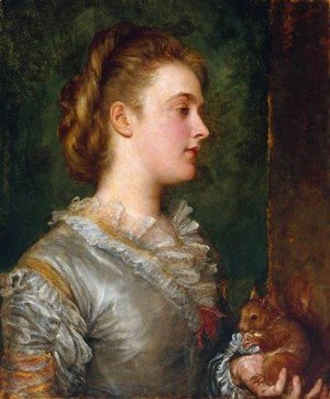 George Frederick Watts - Dorothy Tennant  Later Lady Stanley
