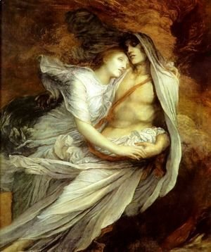 George Frederick Watts - Pablo And Francesca