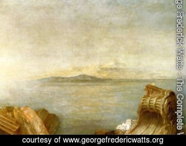 George Frederick Watts - Seascape