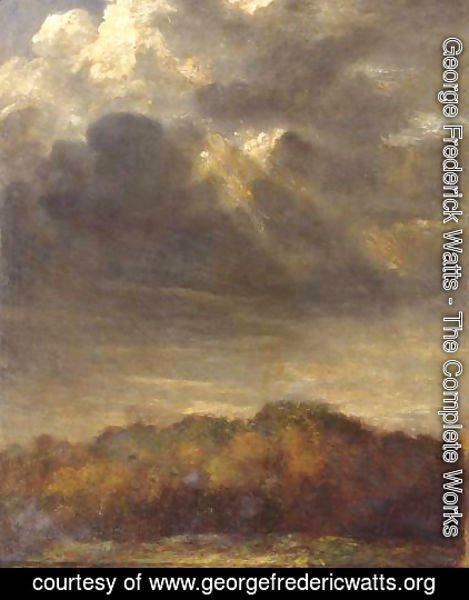 George Frederick Watts - Study Of Clouds