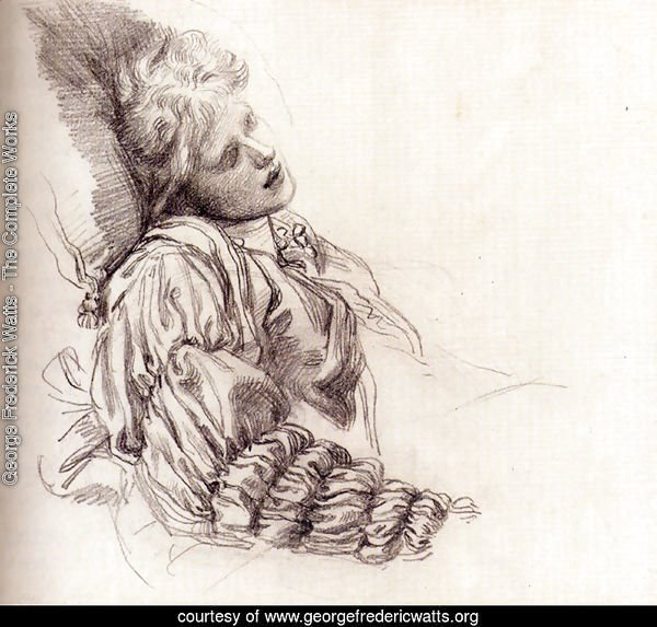 Ellen Terry Asleep