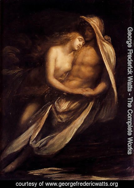 George Frederick Watts - Paulo And Francesco