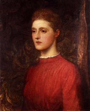George Frederick Watts - Portrait Of A Lady