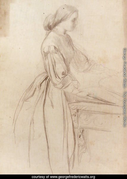 Portrait Of A Lady  Possibly Julia Jackson