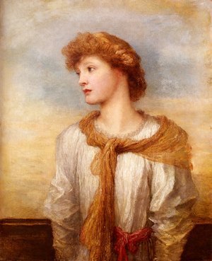 Portrait Of Miss Lilian Macintosh