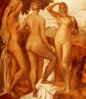 George Frederick Watts - The Judgement Of Paris